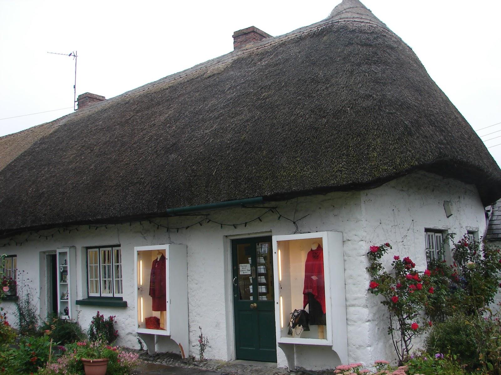 Casa antiga de Adare (foto XMLS)