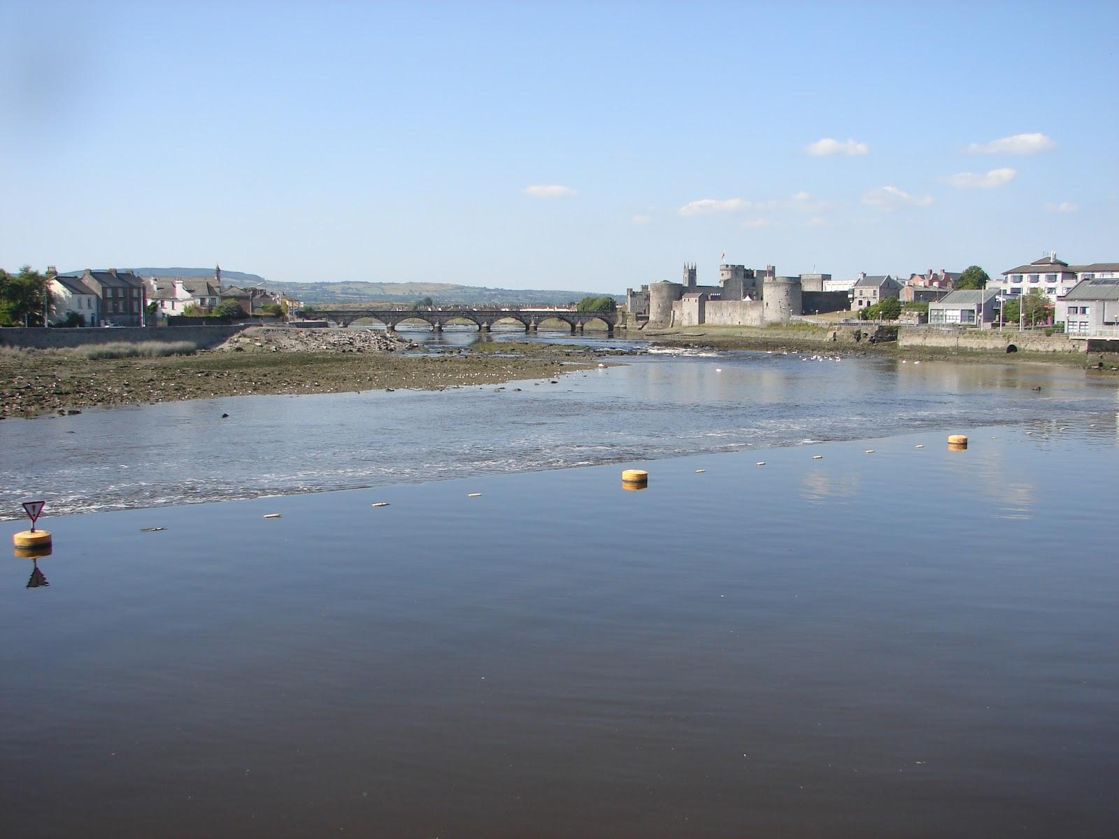 Non sempre chove en Limerick; como proba, esta foto de xullo de 2006 (foto XMLS)