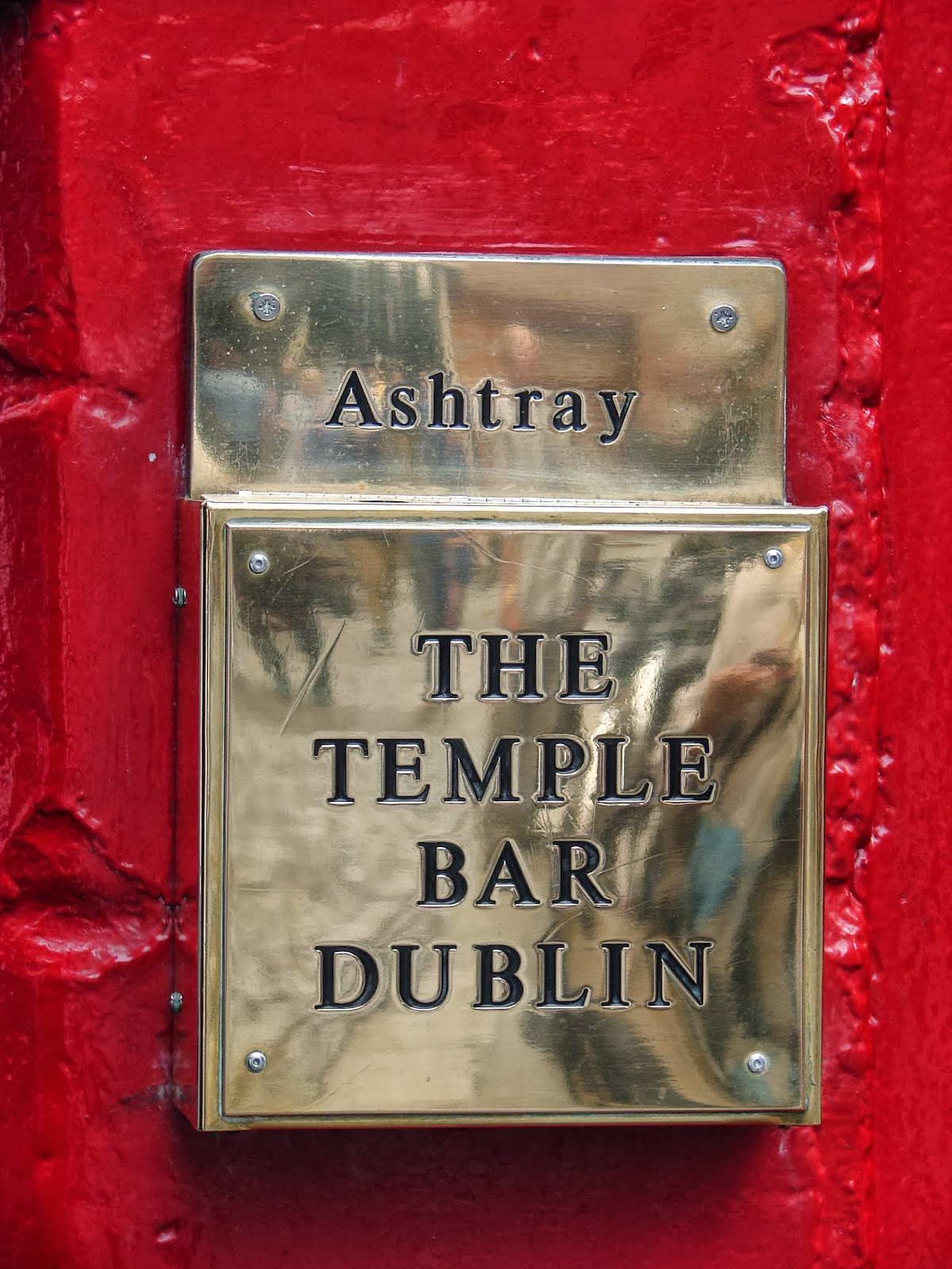 Cinseiro do The Temple Bar (foto XMLS)
