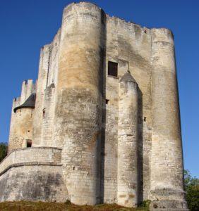 O donjon do castelo de Niort (foto X. Mª Lema [XMLS])