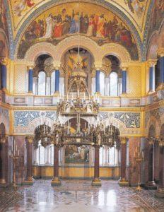 Salón do trono (parte posterior)