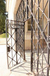 Outra vista da porta de entrada a Dachau (foto Pablo Sanmartín)