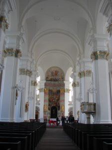 A Jesuitenkirche (igrexa católica) XMLS