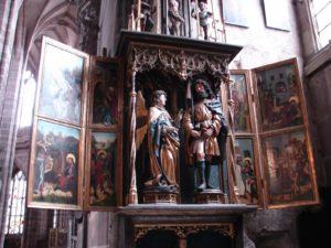 retablo de san Roque (igrexa de St.Lorenz)