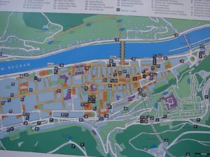 Plano da cidade