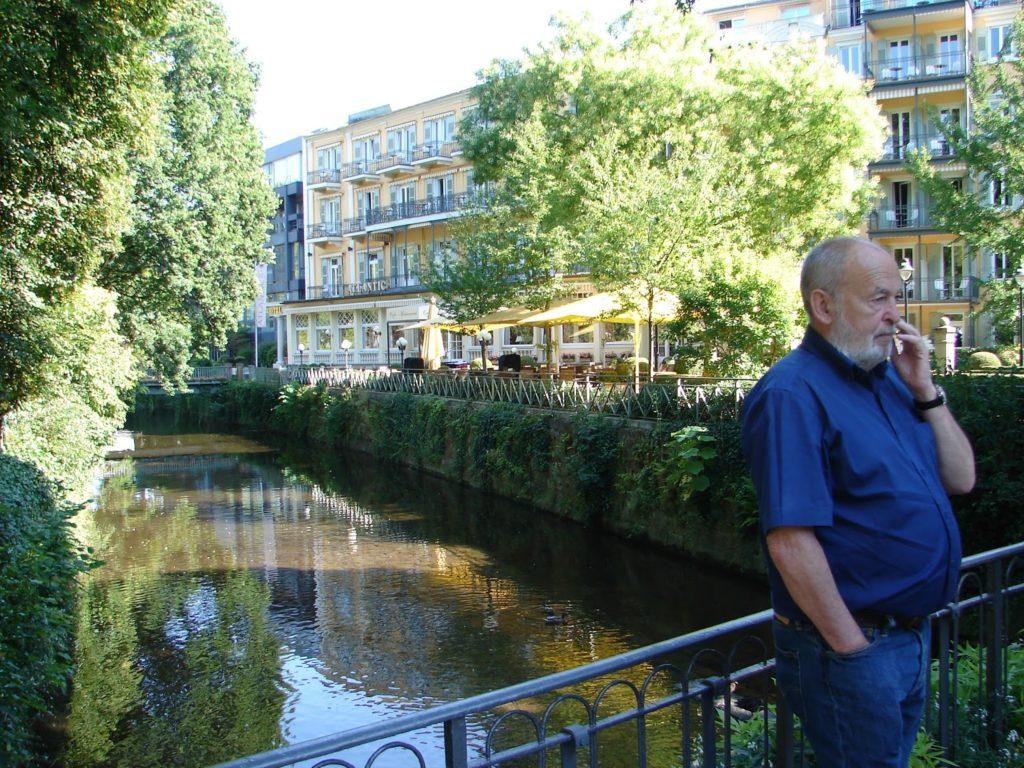 O río Oos de Baden-Baden (e Manolo tamén, claro)