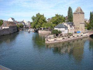Vista parcial da Grande Île de Estrasburgo (XMLS)