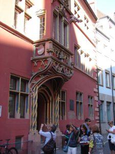 Casa onde viviu o humanista Erasmo de Rotterdam (sé XVI)