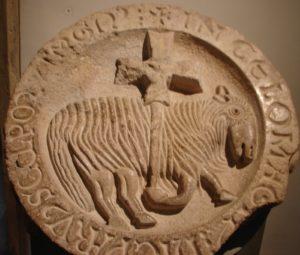 O símbolo de Cluny, no museo