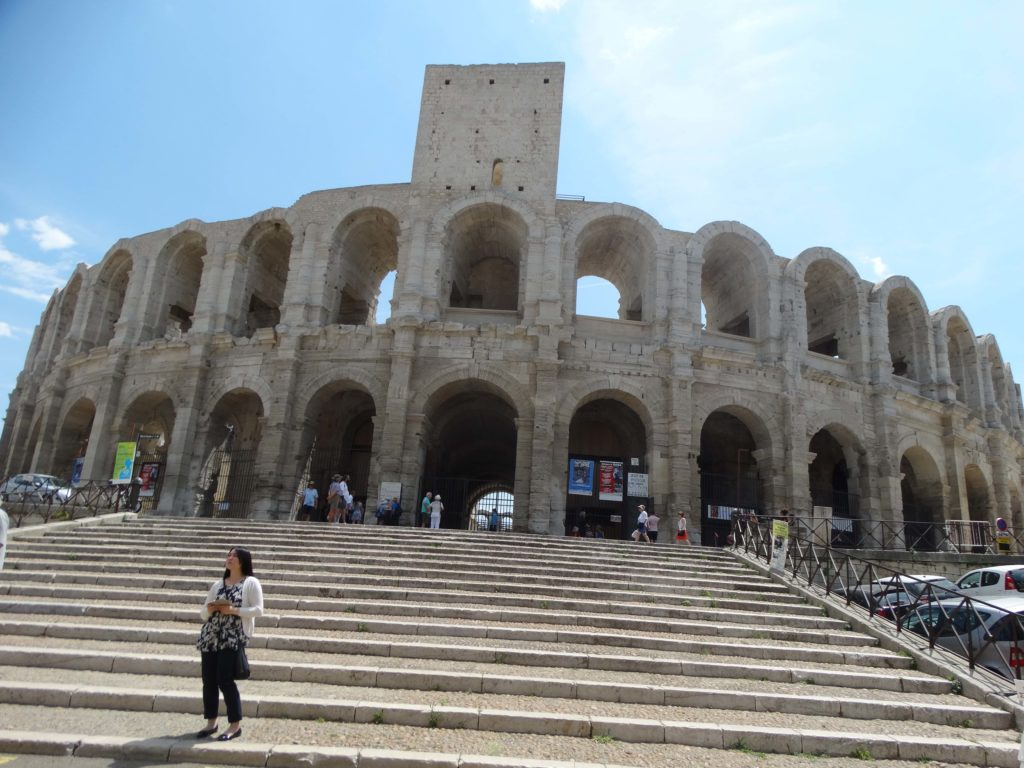 Anfiteatro romano de Arlès