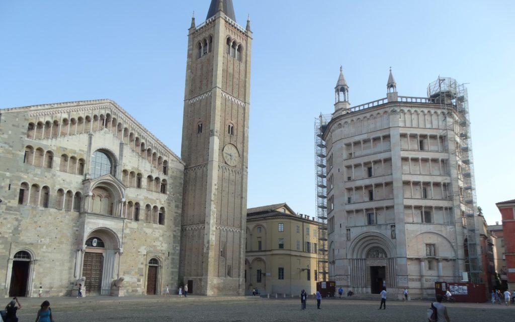 PARMA. Piazza del Duomo + Batisterio