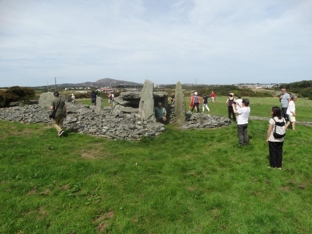 Un dos dolmens da illa de Anglesey (foto XMLS)