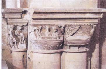 O capitel de La Seu de Lleida (foto Gemma Malé)