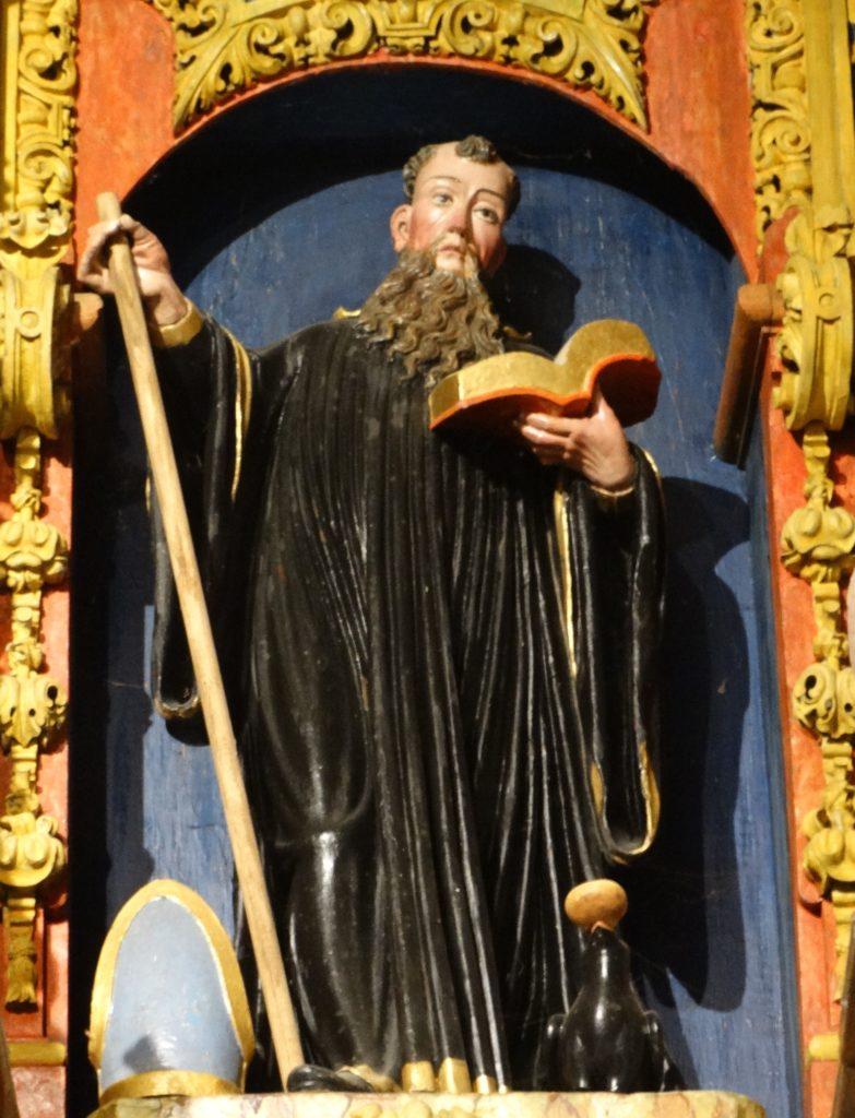 16. San Bieito, do retablo de Riobó (XMLS)