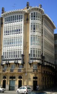 Casa modernista na Coruña (Galipedia)