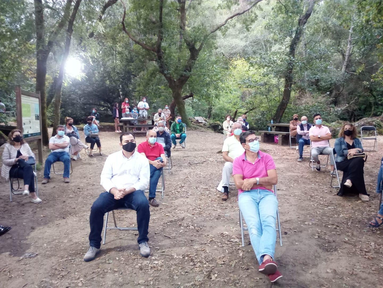 Presentación do libro do río Anllóns en Coristanco